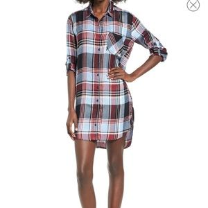 SP Black Plaid Dress